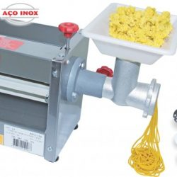 Cilindro Bigolar INOX 60×250 c/ extrusor/moedor FF 1/3cv B.7